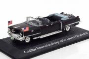 Cadillac Limousin Queen Elizabeth II, черный (1/43)