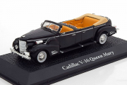 Cadillac V-16 Queen Mary & Harry Truman 1948, черный (1/43)