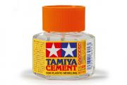 Клей 20 мл с кисточкой и закруч. крышкой (Cement)