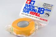 Маскирующая лента 18 мм в рулоне