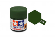 Краска XF-05 зеленая матовая акрил (Flat Green) 10 мл.