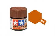 Краска XF-06 медная матовая акрил (Flat Copper) 10 мл.