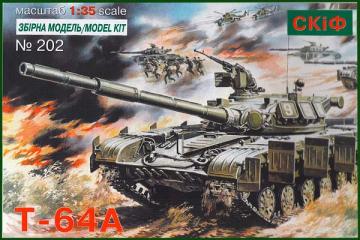 Танк Т-64А (1/35)
