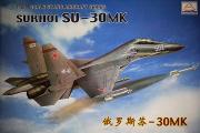 Самолет Су-30МК истребитель (1/48)