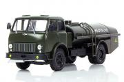 МАЗ-500А топливозаправщик ТЗ-7,5 'Огнеопасно', хаки (1/43)