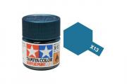Краска X-13 синий металлик акрил глянцевая (Metallic Blue) 10 мл.
