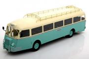 Автобус Chausson APH 47 Nez De Cochon France 1951, бежевый/бирюзовый (1/43)