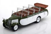Автобус Citroen T23RU Chassaing France 1947, зеленый/белый (1/43)