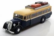 Автобус Citroen T45 France 1934, бежевый/синий (1/43)