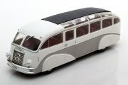 Автобус Mercedes-Benz LO3100 Germany 1936, белый/серый (1/43)