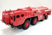 МАЗ-7310 'Ураган' пожарный, красный (1/43)