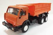 КАМАЗ-55102 самосвал сельхозвариант, оранжевый (1/43)