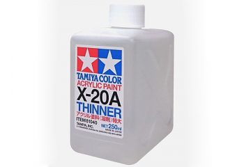 Растворитель для акриловых красок X-20A 250 мл.