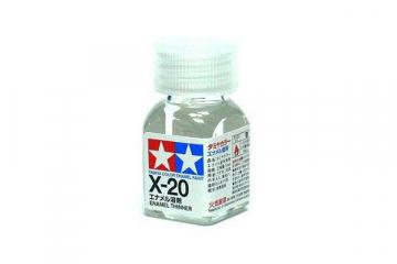 Растворитель для эмалевых красок X-20 10 мл.