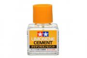 Клей 40 мл с кисточкой и закруч. крышкой Запах лимона (Limonene Cement)