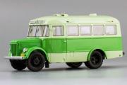 Автобус ПАЗ-651А 'Вокзал-Старая Мацеста' 1956 г., зеленый/салатовый (1/43)