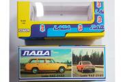 Коробка 'ВАЗ-2101, ВАЗ-2102' сделано в СССР, репринт, новая (1/43)