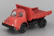 МАЗ-510 самосвал 1962, красный (1/43)