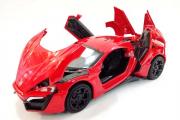 Lamborghini (свет, звук), красный (1/32)
