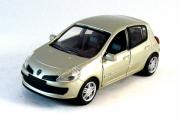 Renault Clio 3, серебристый (1/32)