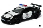 Porsche 911 GT3 RS Police, черный/белый (1/36)