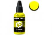 Краска 0085 желтый (Yellow) акрил для аэрографа 18 мл