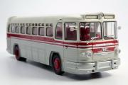 Автобус ЗИС-127, серебристый/красный (1/43)