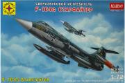 Самолет F-104G Starfighter (Старфайтер) (1/72)