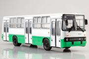 Автобус Икарус-260.06 городской, зеленый/белый (1/43)