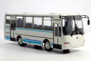 Автобус ПАЗ-4230 'Аврора', белый/синий (1/43)