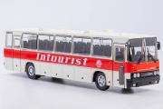 Автобус Икарус-250.59 'Intourist', белый/красный (1/43)