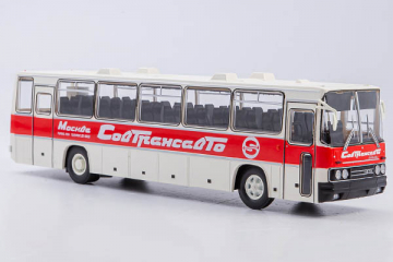 Автобус Икарус-250.59 'Совтрансавто', белый/красный (1/43)