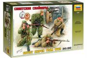 Солдаты Советские снайперы 1941-1943 (1/35)