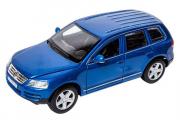 Volkswagen Touareg, синий (1/43)