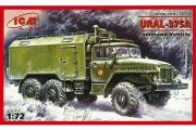 Автомобиль Урал-375А подвижный командный пункт (1/72)