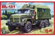 Автомобиль ЗИЛ-131 подвижный командный пункт (1/72)