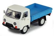 УАЗ-452Д бортовой, белый/синий (1/43)