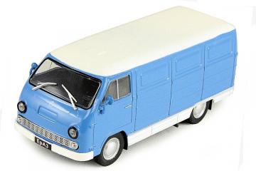 ЕрАЗ-762ЕБ фургон, синий/белый (1/43)