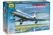 Самолет ТУ-134А/Б-3 (1/144)