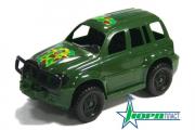 Джип 'Армейский' с бампером, зеленый
