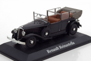 Renault Reinastella of French President Albert Lebrun 1938, черный (1/43)