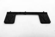Брызговики ЗИЛ-130 задние, черный (1/43)