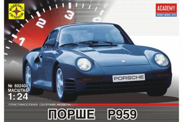 Автомобиль Porsche 959 (1/24)