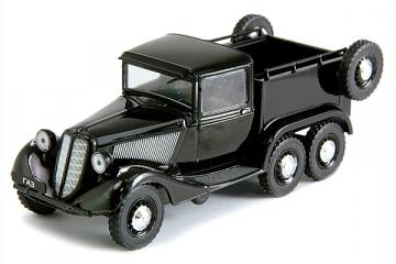 Горький-21 1937 г., черный (1/43)
