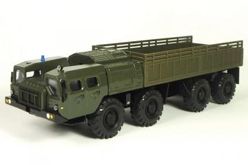 МАЗ-7310 'Ураган' бортовой, хаки (1/43)