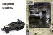 Classic Tank сборный М16, хаки (1/32)