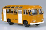 Автобус ПАЗ-672М городской, охра (1/43)