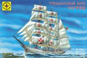 Корабль 'Сагреш' трехмачтовый барк (1/350)