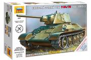 Танк Т-34-76. Сборка без клея (1/72)