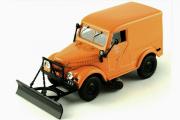 Горький-69 Т-3 Тротуароуборочная машина, оранжевый (1/43)